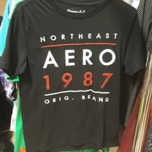 Black Aeropostale shirt